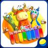 Скачать Детское пианино с животными - игра для малышей на андроид бесплатно