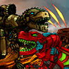 Dino Robot Battle Arena : Dinosaur game