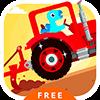Скачать Dinosaur Farm Free - Tractor на андроид