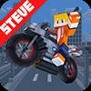 Скачать Steve Motor Racing - Block Car Crafting на андроид