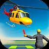 Скачать Вертолет симулятор 2018 - Самолет посадки игры на андроид бесплатно