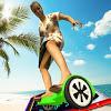 Злобная бабушка Hoverboard Rider
