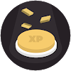 Level Up Button Gold (Premium)