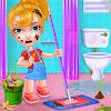 Скачать Держите ваш дом чистой - девочек дома очистки игра на андроид бесплатно
