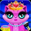 Скачать Китти Cat макияж салон: ПЭТ салон & спа на андроид