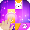 Magic Cat Piano Tiles - Magic Tile Kpop Piano Idol