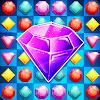Скачать Jewels Самоцветы бесплатная головоломка три в ряд на андроид бесплатно