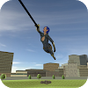 Super Girl Rope Hero 2