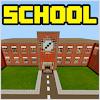 Скачать Городская школа Minecraft PE карта на андроид