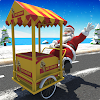 Ice cream Bike Driving Simulator: Christmas