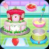 Оливия готовит пирог