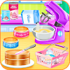 Cooking cake bakery shop