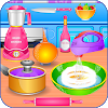 Дети учатся в кулинарной игре