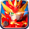 Superhero War: Robot Fight - City Action RPG