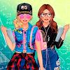 Скачать Подружки Старшеклассницы - одевалки и макияж на андроид бесплатно