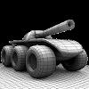 Скачать Six Wheels and a Gun на андроид бесплатно