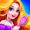 Длинные принцессы волос Макияж