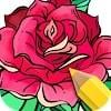 Скачать Flowers Coloring Books на андроид бесплатно