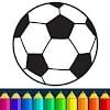 Скачать Футбол книга колорит игры на андроид бесплатно