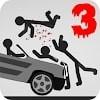 Скачать Stickman Dismount 3 Heroes на андроид бесплатно
