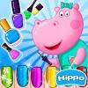 Скачать Маникюрный салон Гиппо: Игры для девочек на андроид бесплатно