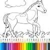 Скачать Игры лошади раскраски на андроид бесплатно
