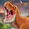 Скачать DINO WORLD - Jurassic dinosaur game на андроид бесплатно
