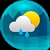 Скачать Виджет Погода равно Часы - Android на андроид