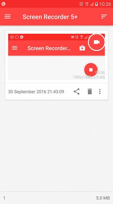 Скачать screen recorder 5+ 9. 7 для android.
