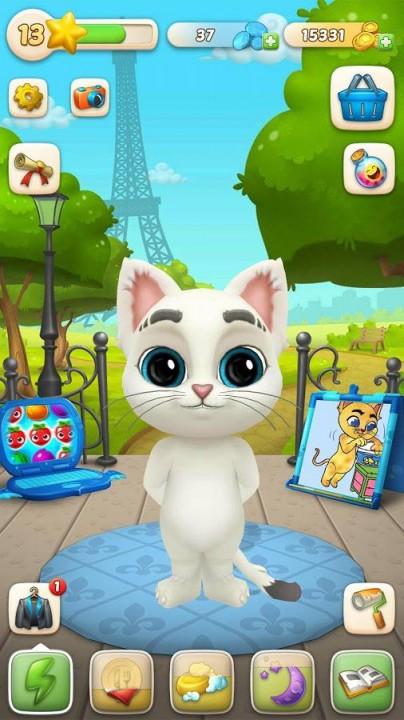 Скачать игру мой говорящий кот оскар