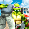 Скачать Flying Ninja Turtle Warrior City Rescue Mission 3D на андроид
