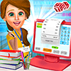 Скачать High School Book Store Cashier - Kids Game на андроид