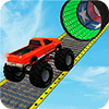 Скачать Monster Truck Stunt Race : Impossible Track Games на андроид
