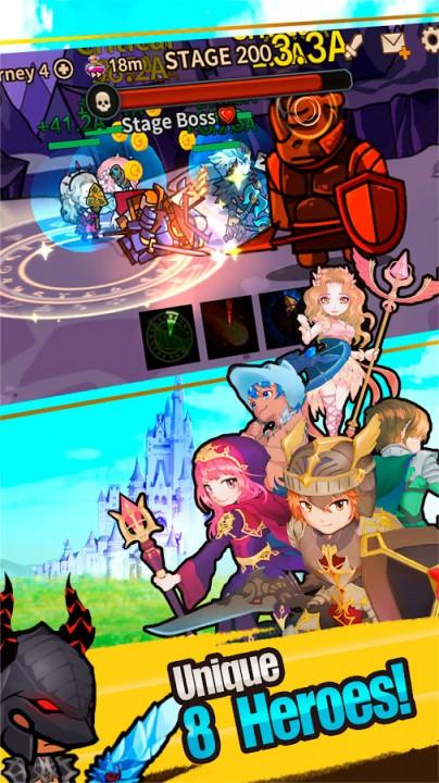 infinity heroes ldierpg vip