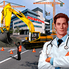 Скачать City Hospital Building Construction Building Games на андроид