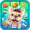 Скачать French Bulldog Food Match 3 на андроид