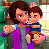 Скачать Virtual Babysitter Life: Happy Family Simulator на андроид