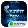 Скачать Thunder Hero GO Keyboard Theme на андроид