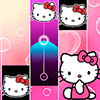 Скачать Hello Kitty Piano Tiles на андроид