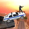 Скачать Police Car Impossible Ramp на андроид