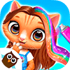Скачать Amys Animal Hair Salon - Fluffy Cats Makeovers на андроид